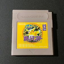 Gameboy Pokemon Yellow japonés Cartucho sólo 1995 DMG-AP5J-JPN [sin probar]