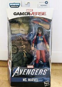 """Marvel Legends 6"""" Gamerverse Ms. Marvel Avenger Ms Kamala Khan NEW Unopened"""