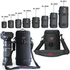 Thicken Strong DSLR Camera Lens Shoulder Bag Large Pouch Case Padded 150-600mm