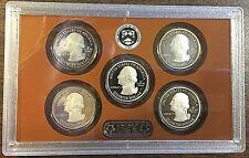 2020 United States Mint America The Beautiful Quarters Proof Set & Plastic Case