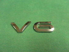 2002-2007 Saturn VUE V6 Chrome Liftgate Emblem OEM