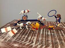 Playmobil Zirkus Hunde 4237 -vollständig-
