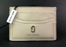 Marc Jacobs Cream Leather Card Case