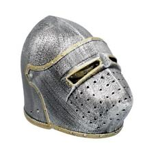 More details for bascinet helmet medieval toy kids adults knight fancy dress cosplay one size