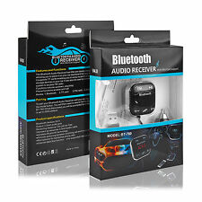 Magnet Car Kit Wireless Bluetooth FM Transmitter Handsfree USB LCD SD MP3 Player