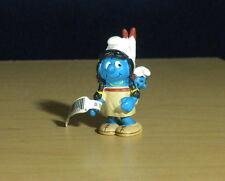 Smurfs 20555 Smurfette Baby Smurf Indian Figure Germany Vintage Toy PVC Figurine