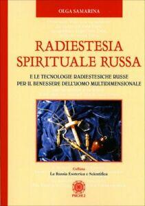 LIBRO RADIESTESIA SPIRITUALE RUSSA - SAMARINA OLGA KONRADOVNA