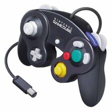 Nintendo OEM Black GameCube Controller  Very Good 0Z