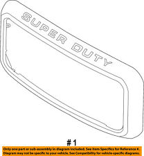 FORD OEM 11-16 F-350 Super Duty-Grille Grill Surround Trim BC3Z8200A