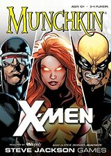 Munchkin X-Men [Card Game, 2017 Marvel Comics, 3-4 Players, 1-2 Hours, Ages 10+]