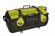 Oxford Aqua T-50 Motorcycle Bike Rollbag Waterproof Tailpack Black/Fluorescent