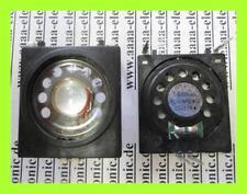 LAUTSPRECHER  16 Ohm 0,3 W  39 x 42 mm FE 36016PC/W LF 2 Stück