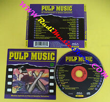 CD SOUNDTRACK PULP MUSIC mcd 77018 ITALY 1996 no lp mc dvd(OST4)