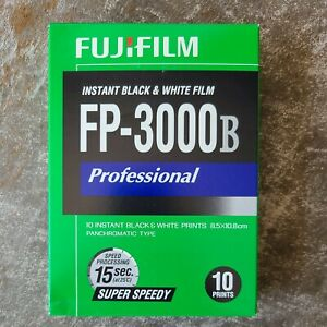 Fuji Film FP-3000B professional instant Black & White Polaroid - expired new