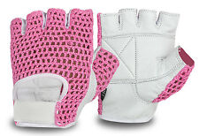 Womens Gym Gloves Weight Lifting Bodybuilding Workout Training Fitness Exercise