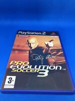 Pro Evolution Soccer 3 (Sony PS2, 2003 Konami) PAL - PES 3 Complete with Manual