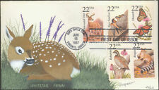 #2286//2317 White-tailed Deer Poormon FDC (14819872286-2317001)