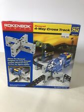 Rokenbok Monorail 4-Way Cross Track New Sealed In Box
