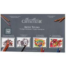 NEW Brevillier's Cretacolor Artist Studio 72 Piece Drawing Set 464 72