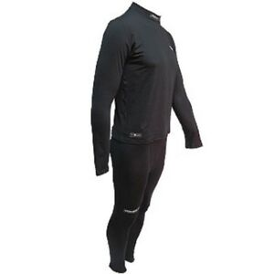 PowerTek 2-Piece ADULT MEN'S Compression Base Layer Long Sleeve Shirt & Pants