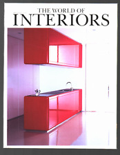 THE WORLD OF INTERIORS March 2002 UK Ausgabe