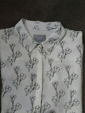 Pure Collection Silk Blouse Shirt Size 10