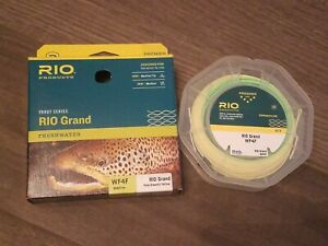 Rio Grand Fly Line - WF4F - Pale Green/Lt Yellow - BRAND NEW! FREE SHIPPING!!!!