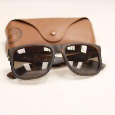 Men's RAY-BAN Polarized RB4165 Justin Tortoise Shell Wayfarer Sunglasses - P34