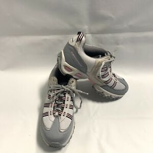 Cannondale Duratech Cycling Mountain Bike Shoes W/ SM-S56 Clips Gray Pink Size 8