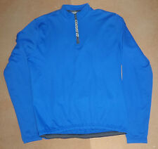 BRIKO SOLID LONG SLEEVE CYCLING JERSEY XL UK P&P FREE