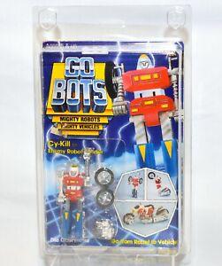 Vintage 1983 Tonka Gobots Cy-Kill Enemy Robot Leader Figure RESEALED