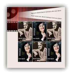 Kosovo Stamps 2021. Stage Art: Besim Sahatçiu & Leze Qena. Sheet MNH