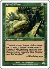 MTG Magic 7ED FOIL - Spined Wurm/Guivre à piquants, English/VO