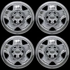 "4 New CHROME 05-16 Toyota Tacoma 16"" Wheel Skins Hub Caps 6 Lug Steel Rim Covers"