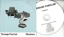 TEENAGE FANCLUB Shadows 2010 UK 12-trk promo test CD