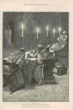 1890-ANTIQUE PRINT fine art MERVEILLEUSE AVENTURE Phra phénicien Paget (139)