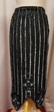 Vintage black beaded skirt costume