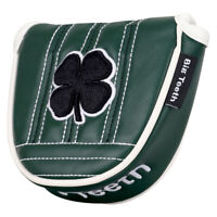 Golf Mallet Headcover Putter Cover Magnetic Lucky Clover For Scotty Cameron Ping