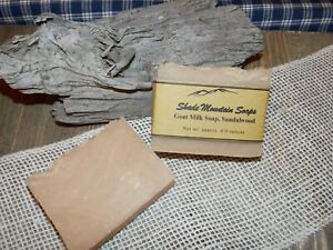 Homemade Goat's Milk Soap - Sandalwood