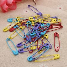 40Pcs Coloured Safety Pins Stitch Markers For DIY Findings Jewelry Making Decor