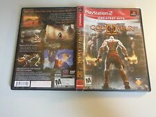 GOD OF WAR II 2 GH W BONUS DISC PLAYSTATION 2 PS2 EX+NM CONDITION COMPLETE!