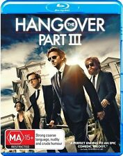 The Hangover : Part 3 (Blu-ray, 2013) all regions