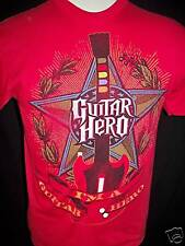 GUITAR HERO Youth Red Size XLARGE 18 - 20 T Shirt NWT