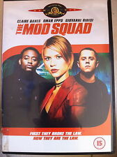 Claire Danes Omar Epps MOD SQUAD ~ 1999 Action Thriller Feature Film   UK DVD