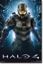 XBOX 360 MICROSOFT HALO 4 TEASER VIDEO GAME POSTER NEW 22x34 FREE SHIPPING
