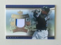 2007 Carlos Delgado Upper Deck Game Materials 2 Color Jersey Swatch Card!