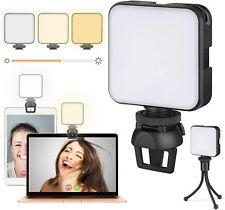 Video Conference Led Lighting Kit Laptop Webcam Camera Lighting with Clip