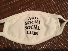 New listing Anti Social Social Club Face Mask White Black New