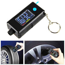 Portable 2in1 Digital Tyre Pressure Gauge 120PSI & Tread Depth Gauge w/Key Chain