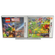 10 x GP18 Box Protectors for Nintendo 3DS Game & Steelbook 0.4mm Display Case